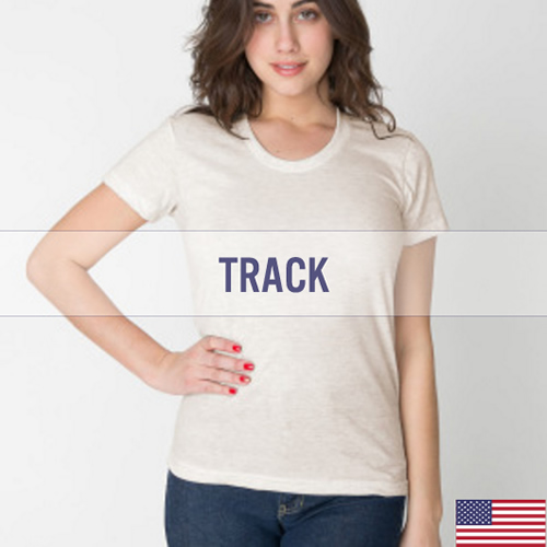 Women's American Apparel Track Fit