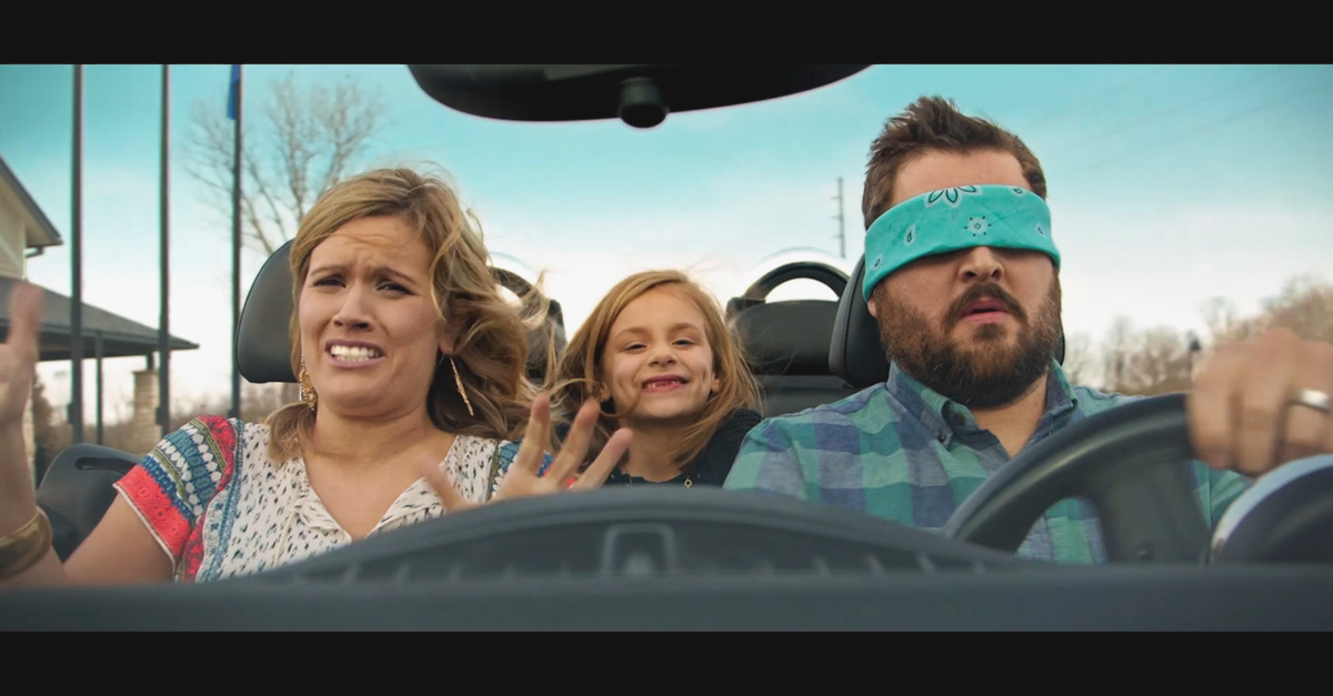 Happy Then car blindfold